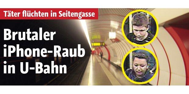 Schon wieder iPhone-Raub in U-Bahn