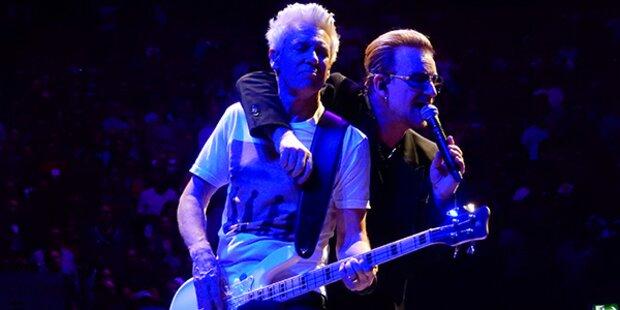 Am besten verdient: So viel haben U2 gecasht
