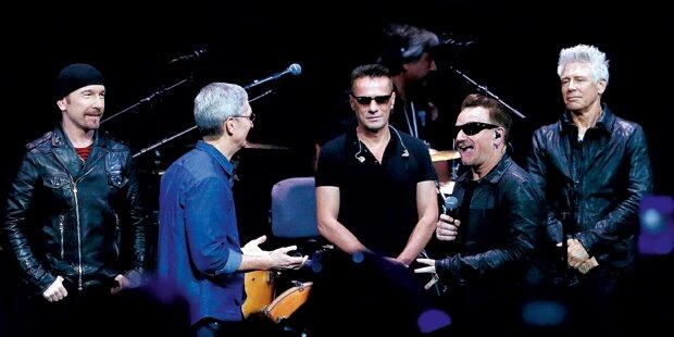 U2 verschenkt neues Album