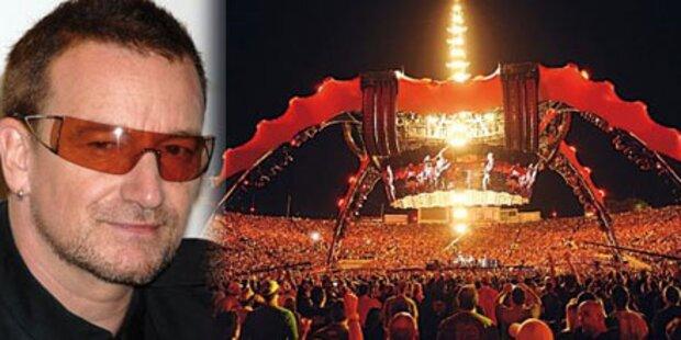 Holen Sie U2 zu sich nach Hause
