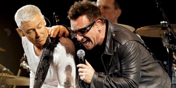 Reinhören: Das ist der neue Song von U2!
