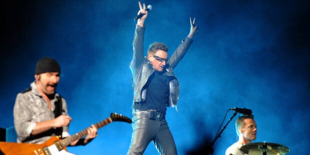 Sensations-Gig: U2 rocken mit Falco-Hit