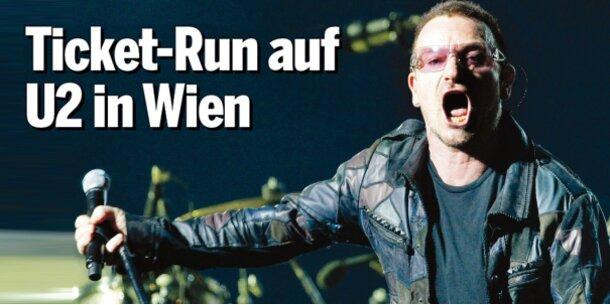 U2 in Wien - Tickets sichern