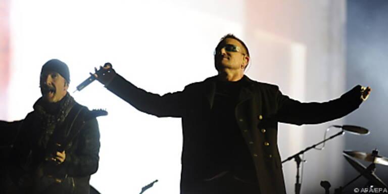 U2 hatte 2009 die Nase vorne