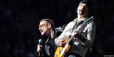 U2 hatte bereits Live-Auftritt auf YouTube