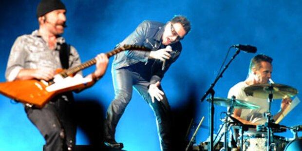 U2 in Wien: Das war die Show des Jahres