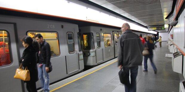 Mann wollte Tourist vor Wiener U-Bahn stoßen