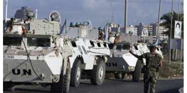 Anschlag auf UNO-Friedenssoldaten in Beirut