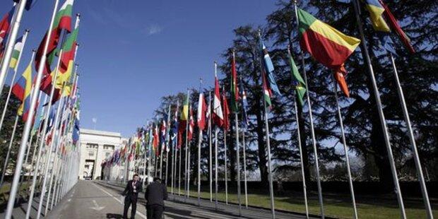 Genf: Mann zündete sich vor UN-Gebäude an