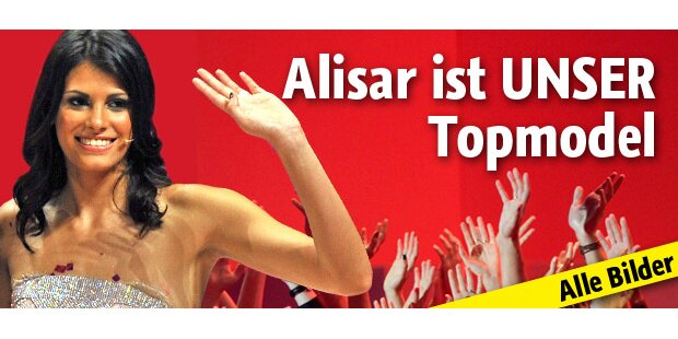 Siiieg! Alisar ist unser Topmodel!