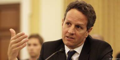 US-Finanzminister Geithner ist zuversichtlich