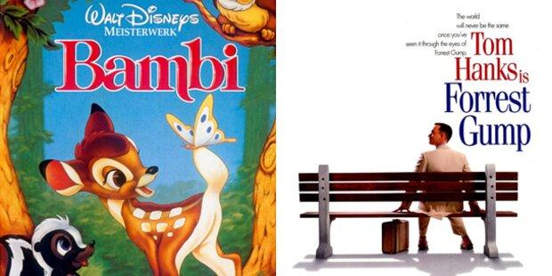 Bambi & Forrest Gump sind US-Kulturerbe
