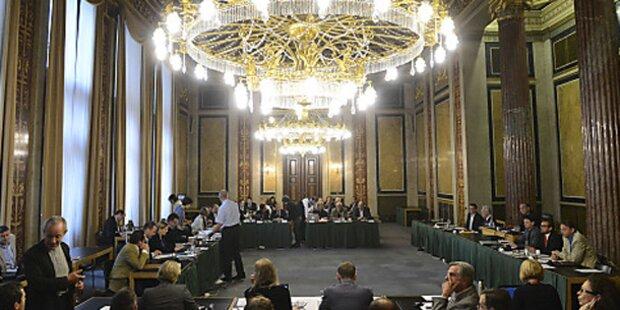 Parlament: Entwurf für U-Ausschuss liegt vor