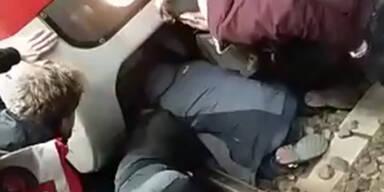 Ubahn Schlägerei Unfall