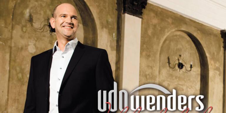 Udo Wenders im Gefühlsrausch