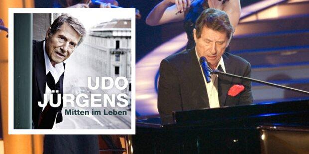 Udo Jürgens gibt noch einmal Gas