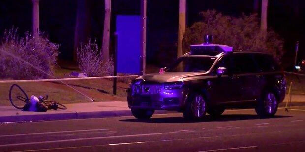 Roboter-Auto von Uber fährt Frau tot