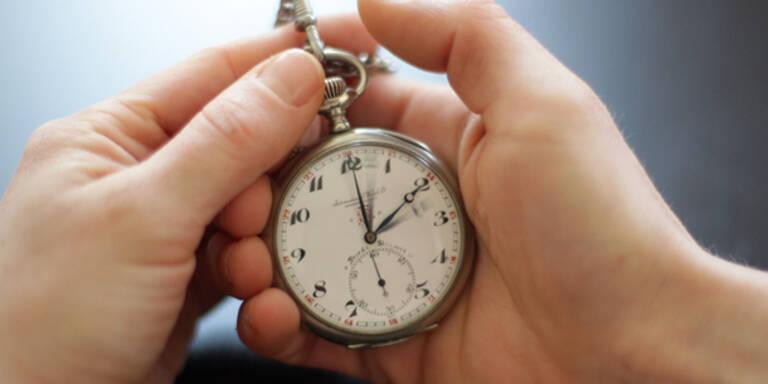 Ab heute ist Winterzeit: Uhren wurden umgestellt
