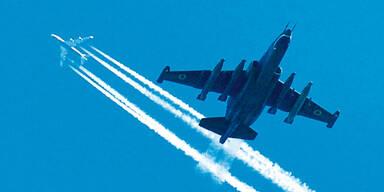 Rebellen schießen 2 Kampfjets ab
