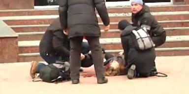 Video: Demonstrant erschossen