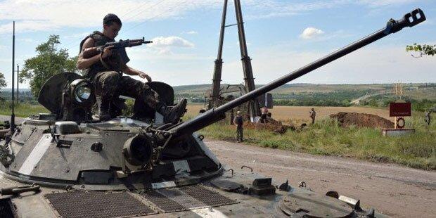 Ukraine: 30 Soldaten durch Raketen getötet