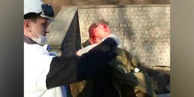 So brutal geht die Polizei gegen Demonstranten vor