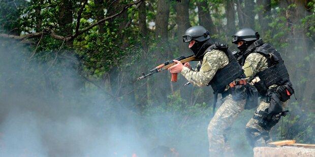 Kämpfe zerstören Ukraine-Frieden