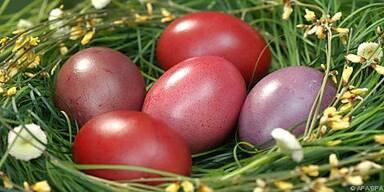 Unabgeschreckte Eier halten bis zu einem Monat