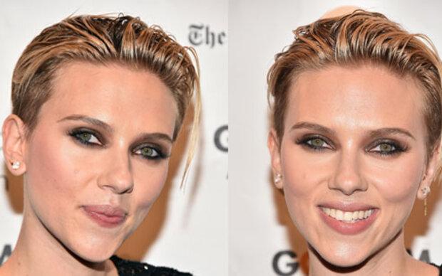 Scarlett Johansson im Wet-Look