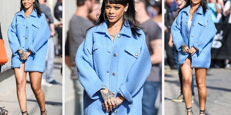 Auf die Hose vergessen, Rihanna?