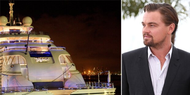Leonardo DiCaprios WM-Yacht