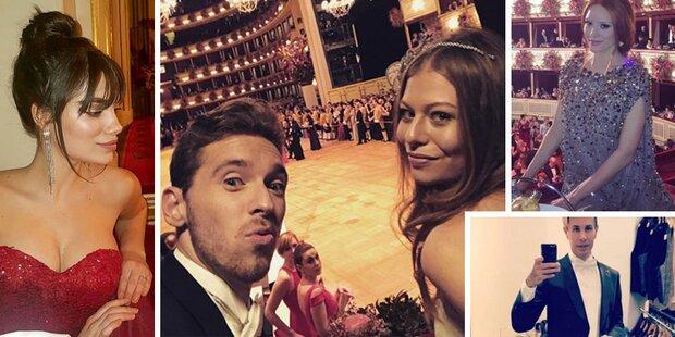 Die Instagram-Fotos der Opernball-Stars