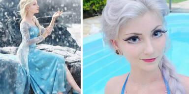 Diese lebende Barbie sieht aus wie Elsa!