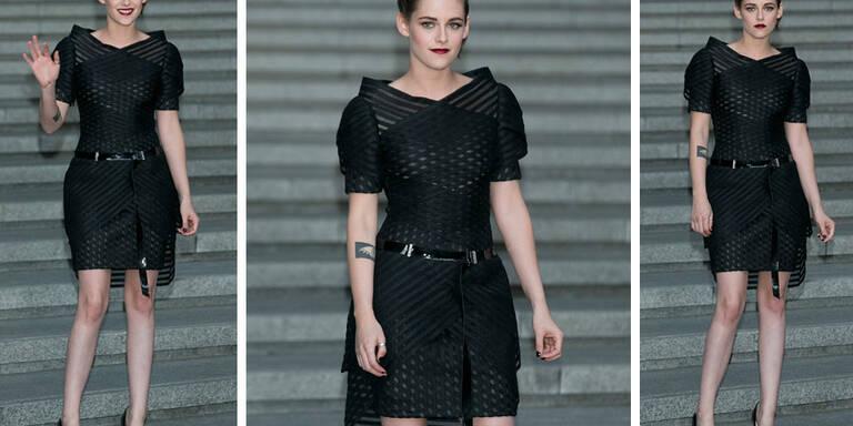 Kristen Stewarts sexy Chanel-Look