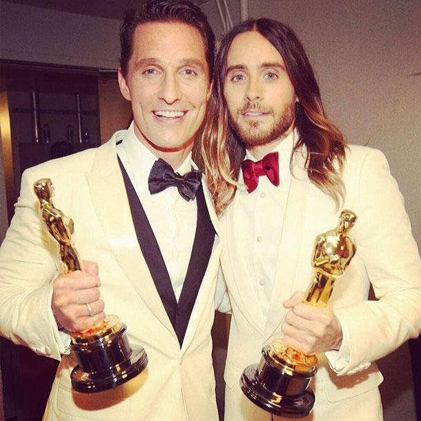 Oscars: Matthew McConaughey & Jared Leto