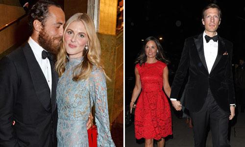 Pippa Middletonn, James Middleton, Donna Air
