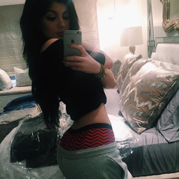 Kylie Jenner: Po-Selfie wie Schwester Kim