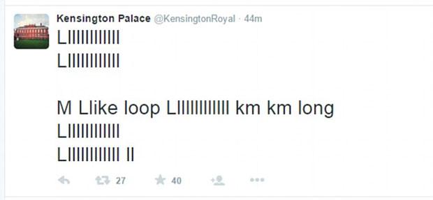 Prinz George auf Twitter