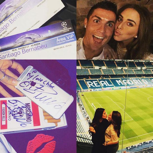 Chloe Green, Cristiano Ronaldo