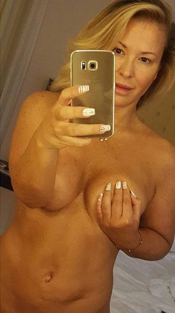 Anastacia: Nacktselfie