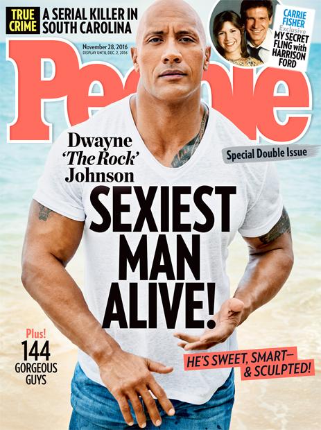 The Rock Dwayne Johnson ist der Sexiest Man Alive