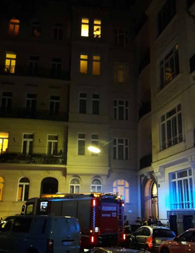 Zimmerbrand in Wien: Eine Tote, zwei Verletzte