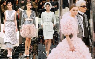 Chanel Haute Couture: Lagerfeld lädt ins Spiegelkabinett