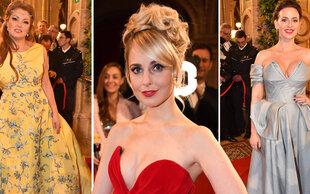 Roter Teppich: Die schönsten Opernball-Roben