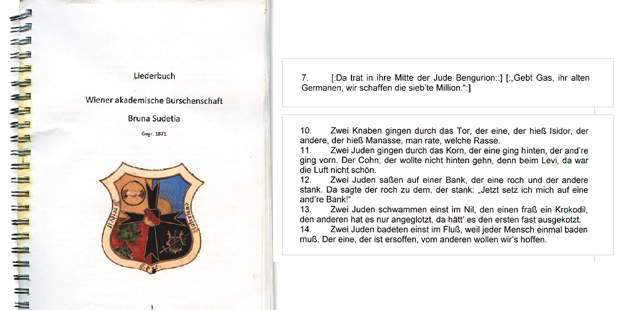 Bruna Sudetia NS-Liederbuch