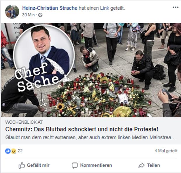 Strache Chemnitz