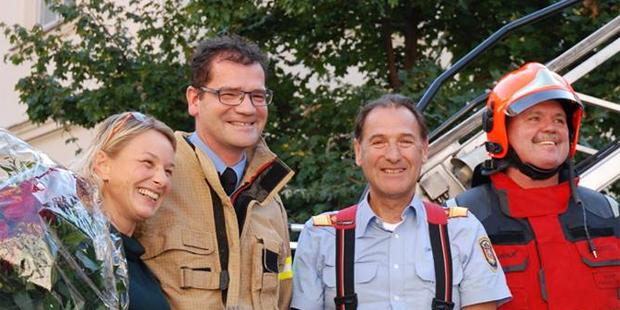 Feuerwehr Graz Heiratsantrag