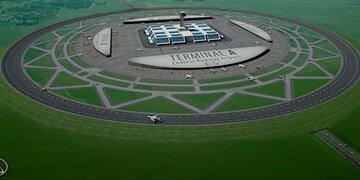 Innovation : Warum Landebahnen künftig rund sein könnten