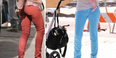 Machen bunte Jeans dick?