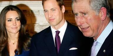 Kate Middleton & Prinz William, Prinz Charles